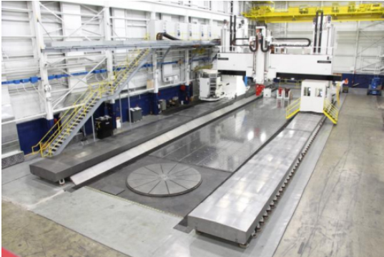 Ingersoll Machine Tools is manufacturing components on its new gantry milling machine