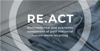 RE.ACT: Make circular economy a reality in textile