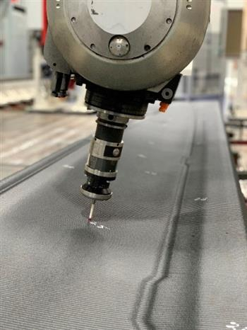 Bell and Ingersoll Machine Tools, Inc. produce main rotor blade 3D Printed Trim Tool on Ingersoll MasterPrint™ the largest 3D printer in the world